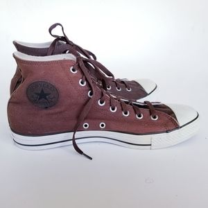Converse high tops fleece lined canvas sneakers